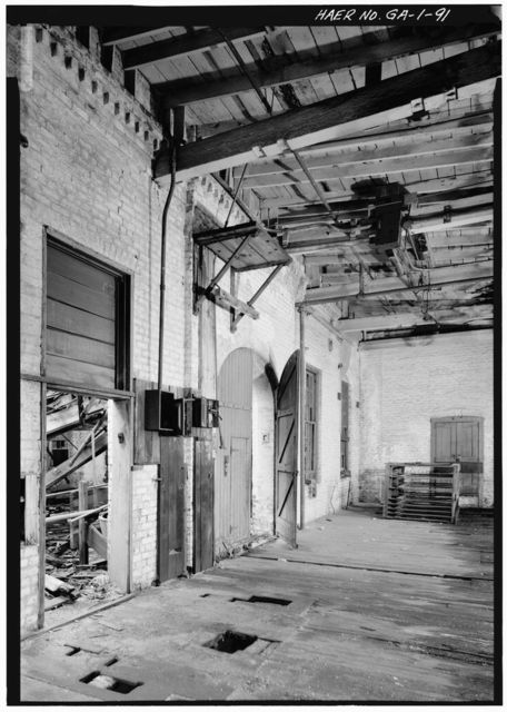 Central of Georgia Railway, Savannah Repair Shops & Terminal Facilities, Carpentry Shop, Bounded by West Broad, Jones, West Boundary & Hull Streets, Savannah, Chatham County, GA