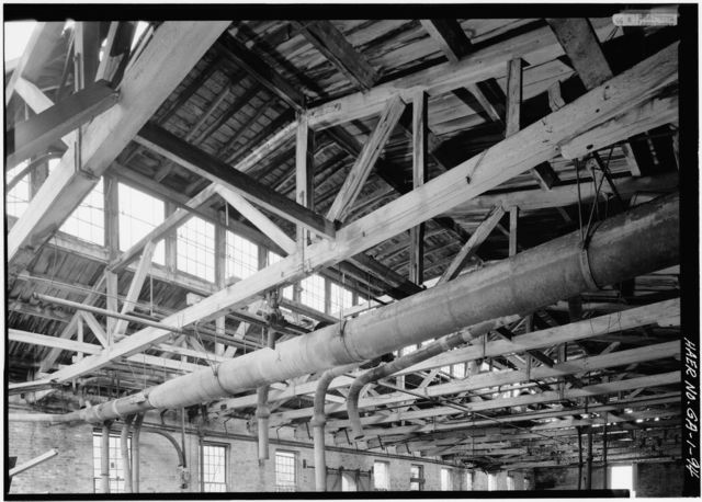 Central of Georgia Railway, Savannah Repair Shops & Terminal Facilities, Carpentry Shop, Bounded by West Broad, Jones, West Boundary & Hull Streets, Savannah, Chatham County, GA
