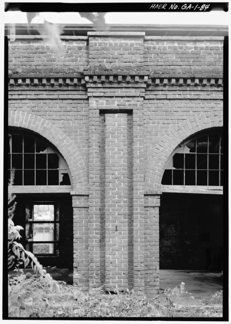 Central of Georgia Railway, Savannah Repair Shops & Terminal Facilities, Lumber Storage Shed, Bounded by West Broad, Jones, West Boundary & Hull Streets, Savannah, Chatham County, GA