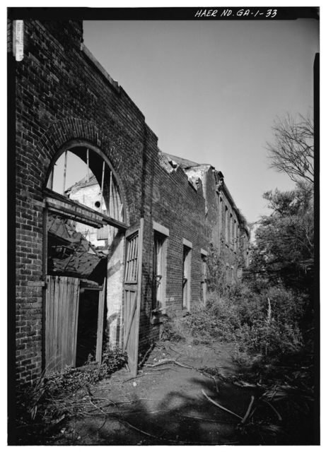 Central of Georgia Railway, Savannah Repair Shops & Terminal Facilities, Machine Shop, Bounded by West Broad, Jones, West Boundary & Hull Streets, Savannah, Chatham County, GA