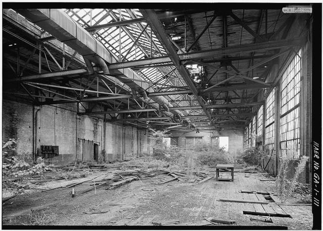 Central of Georgia Railway, Savannah Repair Shops & Terminal Facilities, Paint & Coach Barn, Bounded by West Broad, Jones, West Boundary & Hull Streets, Savannah, Chatham County, GA