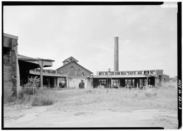 Central of Georgia Railway, Savannah Repair Shops & Terminal Facilities, Roundhouse, Site Bounded by West Broad, Jones, West Boundary & Hull, Savannah, Chatham County, GA