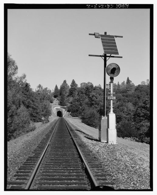 Central Pacific Transcontinental Railroad, Tunnel No. 27, Milepost 133.9, Applegate, Placer County, CA