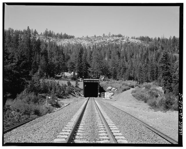 Central Pacific Transcontinental Railroad, Tunnel No. 41, Milepost 193.3, Donner, Placer County, CA