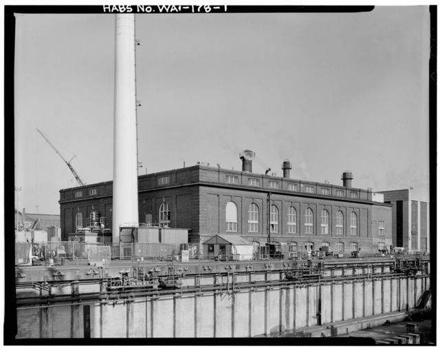 Central Power Station, Puget Sound Naval Shipyard, Bremerton, Kitsap County, WA