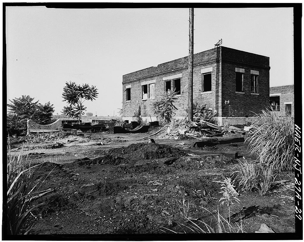Central Railroad of New Jersey, Engine Terminal, Jersey City, Hudson County, NJ