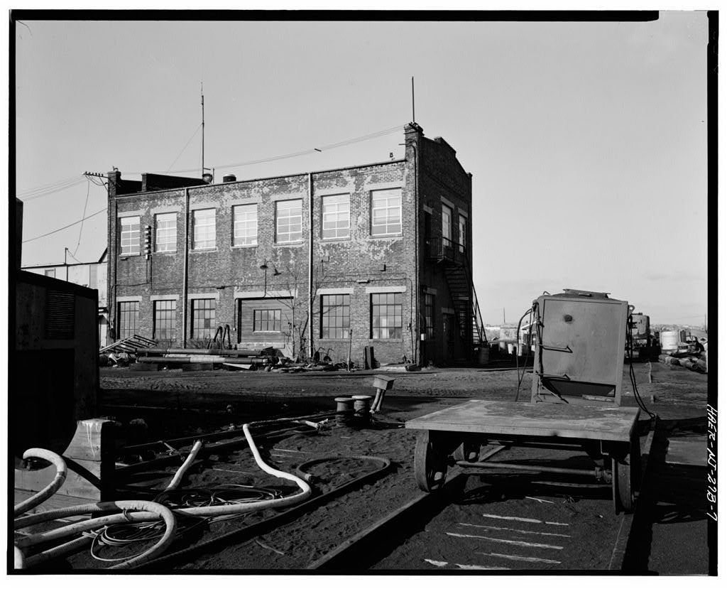Central Railroad of New Jersey, Pier 19, Hudson River waterfront, Jersey City, Hudson County, NJ