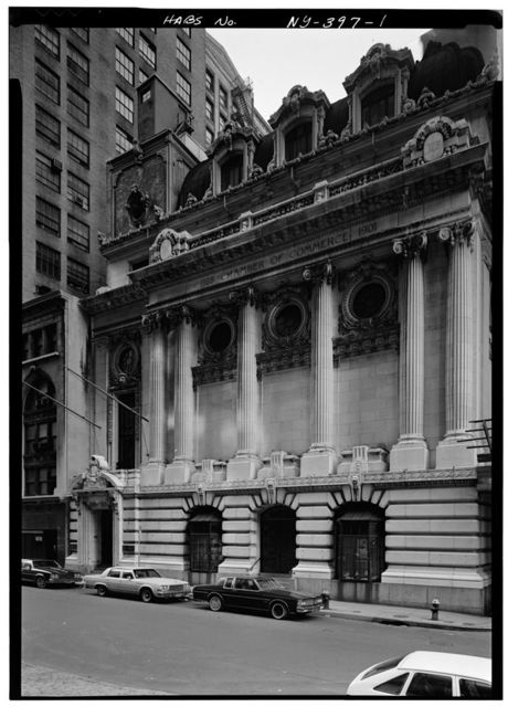 Chamber of Commerce Building, 65 Liberty Street, New York, New York County, NY