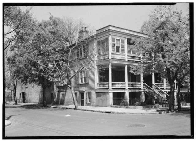 Chancellor De Saussure House, 18 Montague Street, Charleston, Charleston County, SC