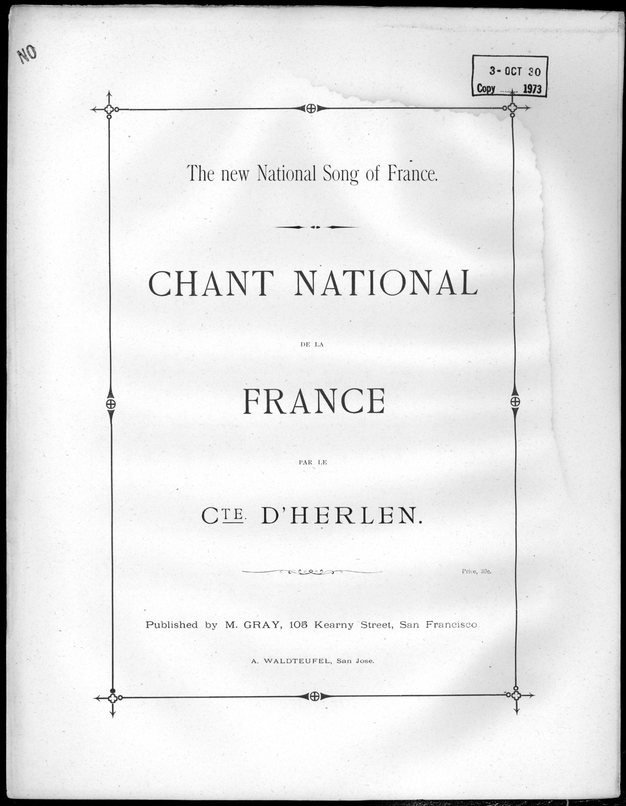 Chant national de la France
