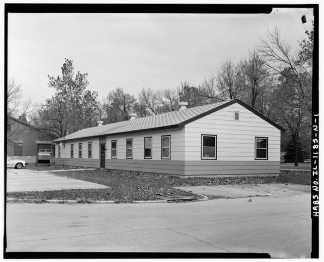 Chanute Air Force Base, Base Maintenance Shop, Northwest corner of Curtiss Street & Sopwith Street, Rantoul, Champaign County, IL