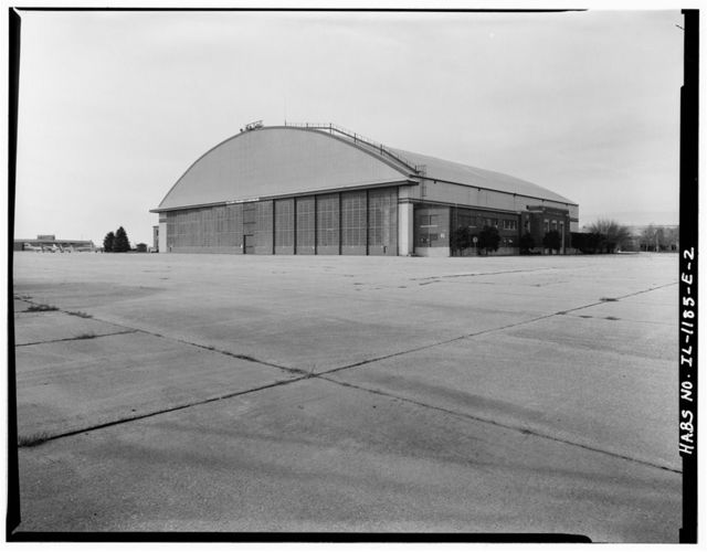 Chanute Air Force Base, Hangar No. 2, Junction of Curtiss Street & Sentry Street, Rantoul, Champaign County, IL