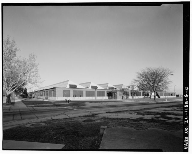 Chanute Air Force Base, Hangar No. 4, Junction of Challenger Street & Sentry Street, Rantoul, Champaign County, IL