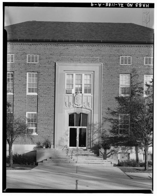 Chanute Air Force Base, Headquarters & Administrative Building, Senior Officer Row at Galaxy Street, Rantoul, Champaign County, IL