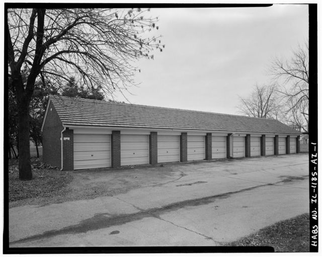 Chanute Air Force Base, Residential Garage, Curtiss Street, Rantoul, Champaign County, IL