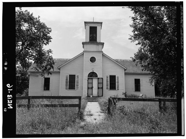 Chapel & Manse Congregational Mission, Santee, Knox County, NE