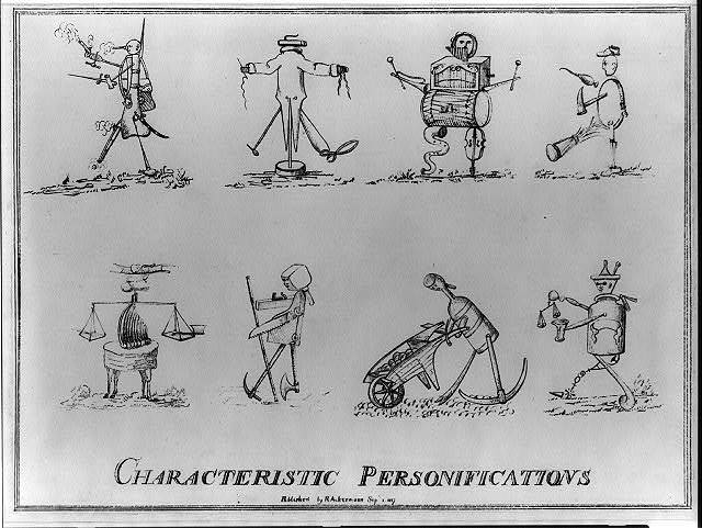 Characteristic personifications