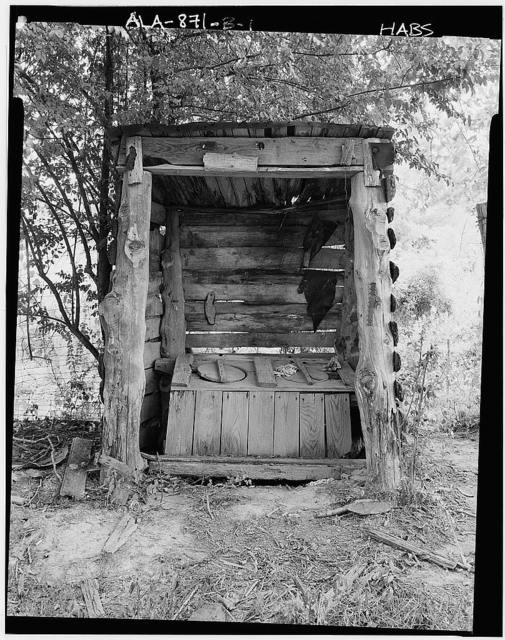 Charity House, Outhouse, State Route 32 & County Route 1 vicinity, Memphis, Pickens County, AL