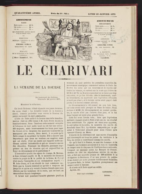 Charivari.  Vol. 1.