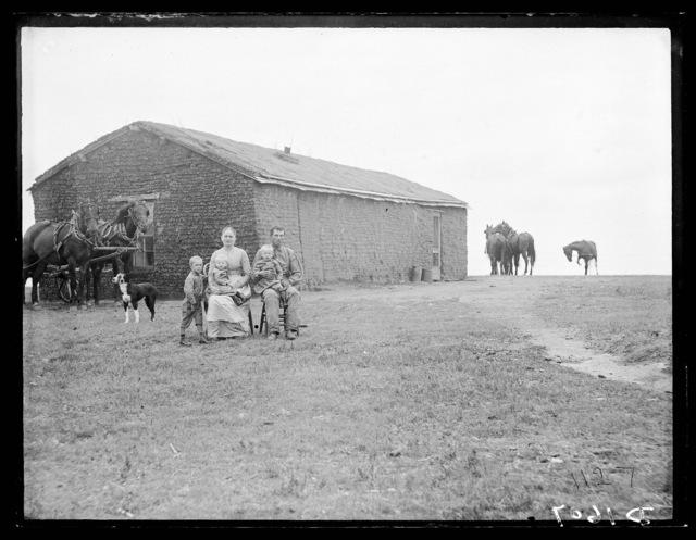 Charles Blakeman, west of Merna, Northwest Custer County, Nebraska.
