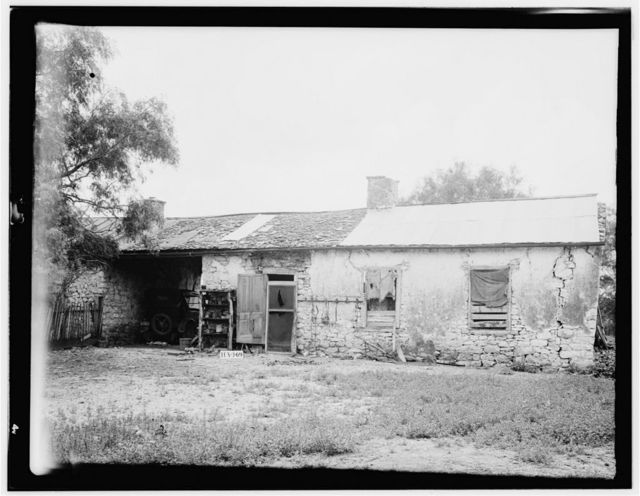 Charles de Mentel House, Northwest of Castroville, Castroville, Medina County, TX