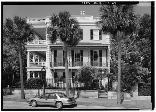 Charles Edmonston House, 21 East Battery Street, Charleston, Charleston County, SC