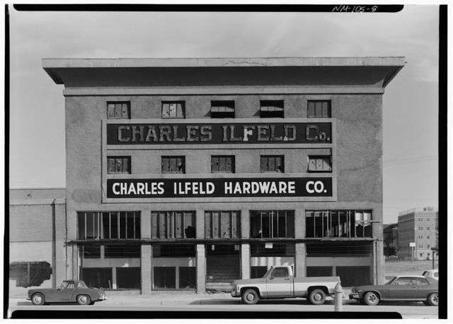 Charles Ilfeld Company Warehouse, 200 First Street Northwest, Albuquerque, Bernalillo County, NM
