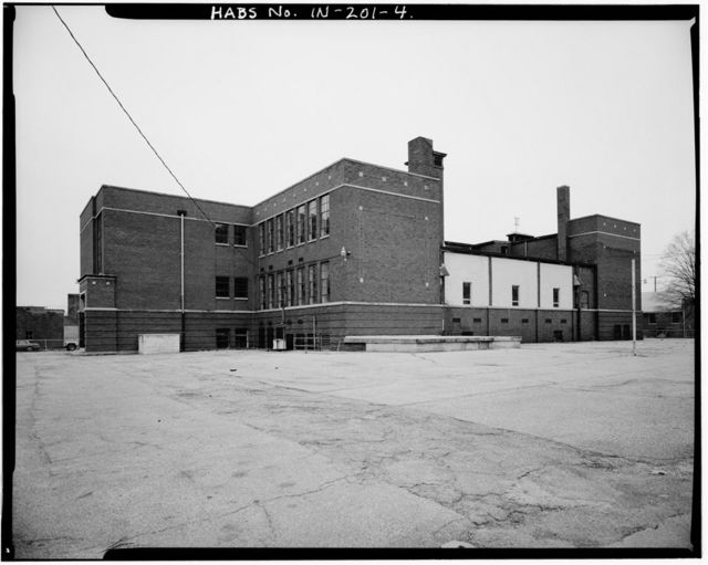 Charles Major School, 102 East Franklin Street, Shelbyville, Shelby County, IN