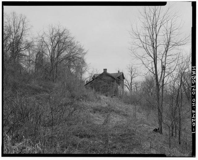 Charles Webber House, Township Road & Sheets Run, Grandview, Washington County, OH