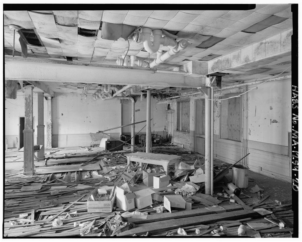 Charlestown Municipal Building, 110 Bunker Hill Street, Charlestown, Suffolk County, MA