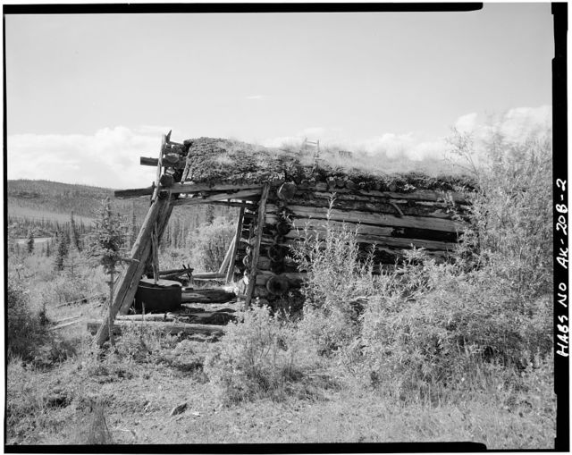 Charlie Yale Work Cabin, Glacier River near Nolan, Bettles, Yukon-Koyukuk Census Area, AK