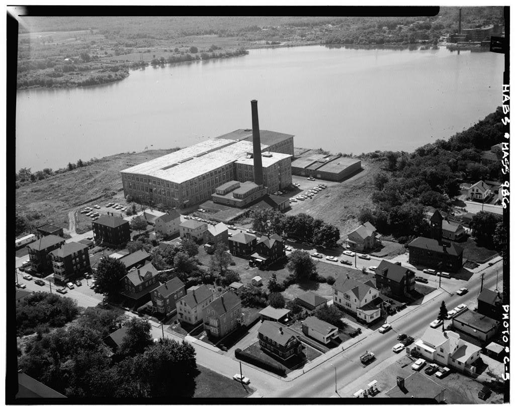 Charlton Mill, Howe & Crawford Streets, Fall River, Bristol County, MA