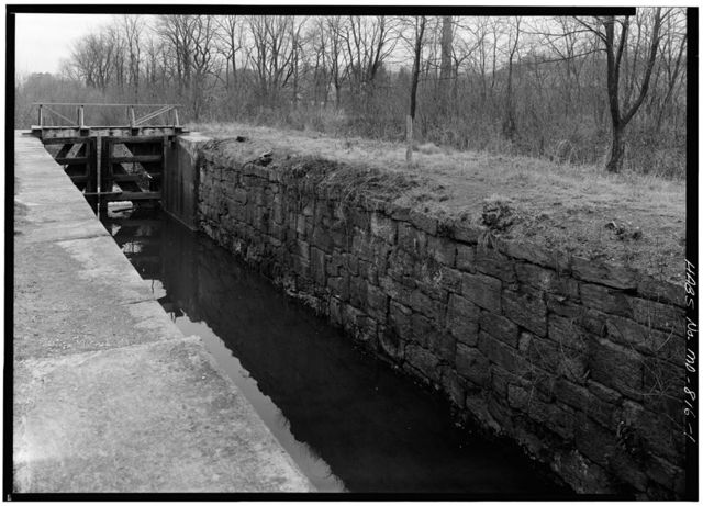 Chesapeake & Ohio Canal, Lock 71, 167.0 miles above tidewater, Oldtown, Allegany County, MD