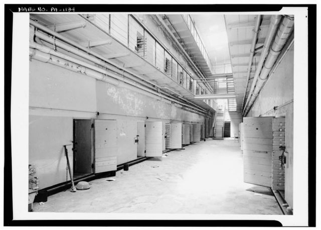Chester County Prison, 235 West Market Street, West Chester, Chester County, PA