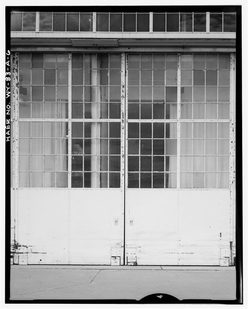 Cheyenne Airfield, United Airlines Hangar, 200 East Eighth Avenue, Cheyenne, Laramie County, WY