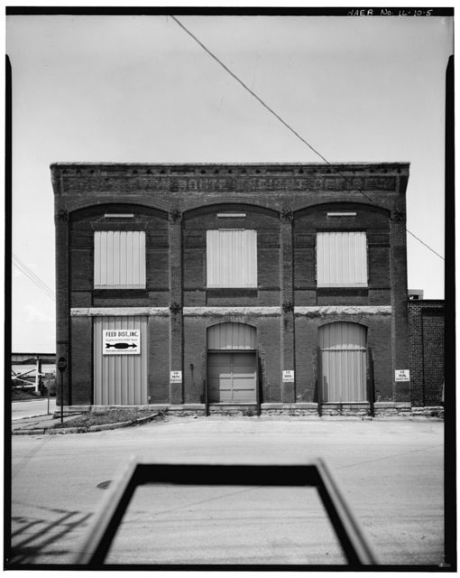 Chicago, Burlington & Quincy Railroad, Freight Office, Second & Broadway Streets, Quincy, Adams County, IL