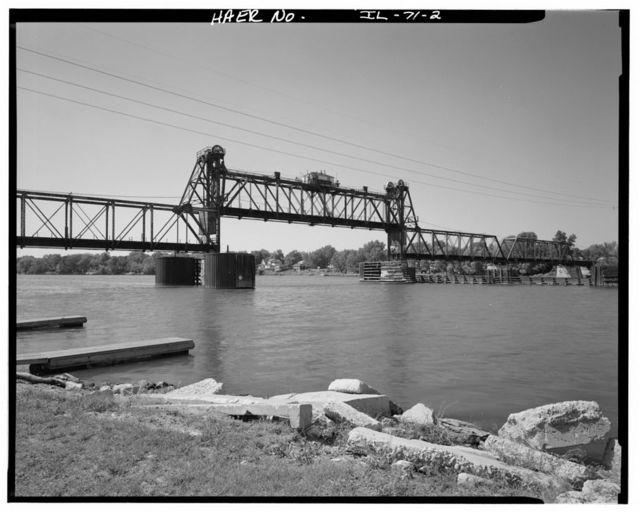 Chicago, Burlington & Quincy Railroad, Illinois River Bridge, Ottawa, La Salle County, IL
