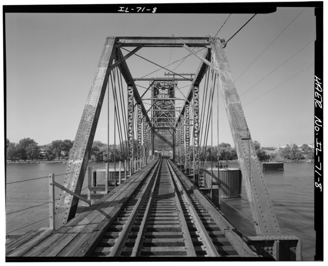 Chicago, Burlington & Quincy Railroad, Illinois River Bridge, Ottawa, La Salle County, IL