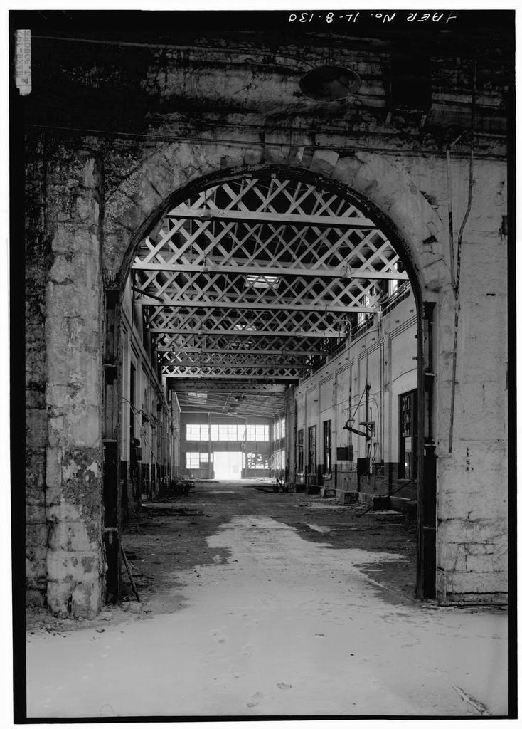 Chicago, Burlington & Quincy Railroad, Roundhouse & Shops, Broadway & Spring Streets, Aurora, Kane County, IL