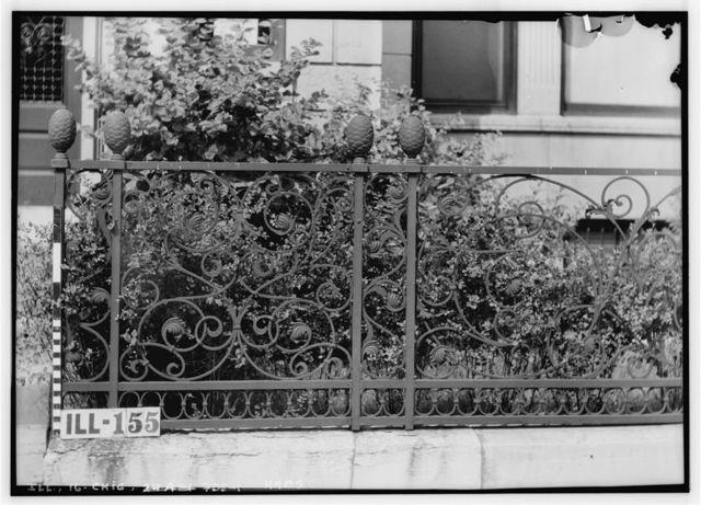 Chicago Ironwork, 720 North Rush Street (Cast Iron Fence), 720 North Rush Street, Chicago, Cook County, IL