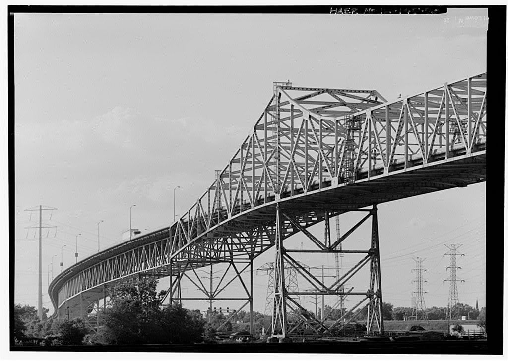 Chicago Skyway Toll Bridge, I-90, for 7 8 miles from South
