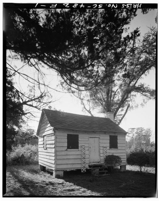 Chicora Wood Plantation, Cabin, County Road 52, Georgetown, Georgetown County, SC
