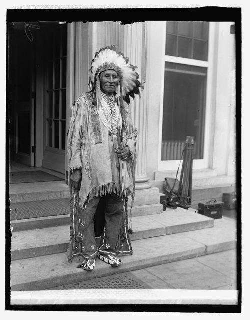 Chief Red Tomohawk, 6/20/29