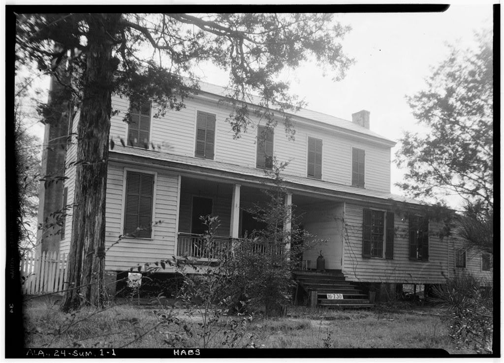 Childers-Tate House, Centenary Street, Summerfield, Dallas County, AL