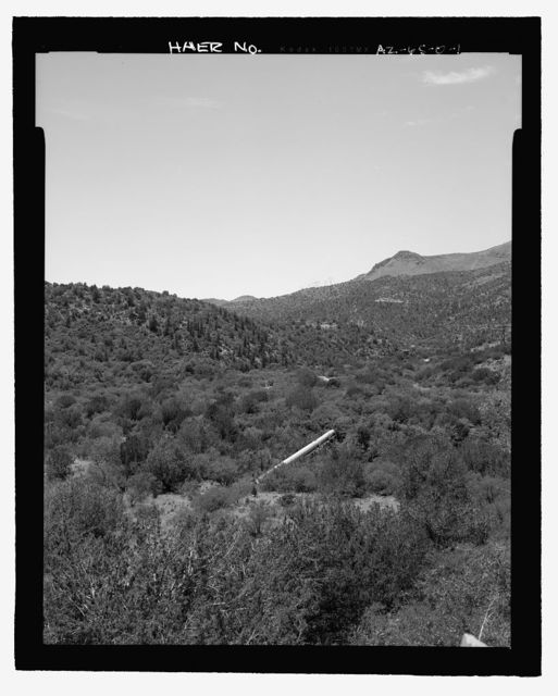 Childs-Irving Hydroelectric Project, Childs System, Flume Bridge No. 2, Forest Service Road 708/502, Camp Verde, Yavapai County, AZ