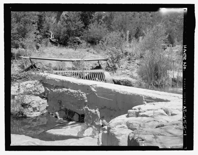 Childs-Irving Hydroelectric Project, Childs System, Flume Intake & Forebay, Forest Service Road 708/502, Camp Verde, Yavapai County, AZ