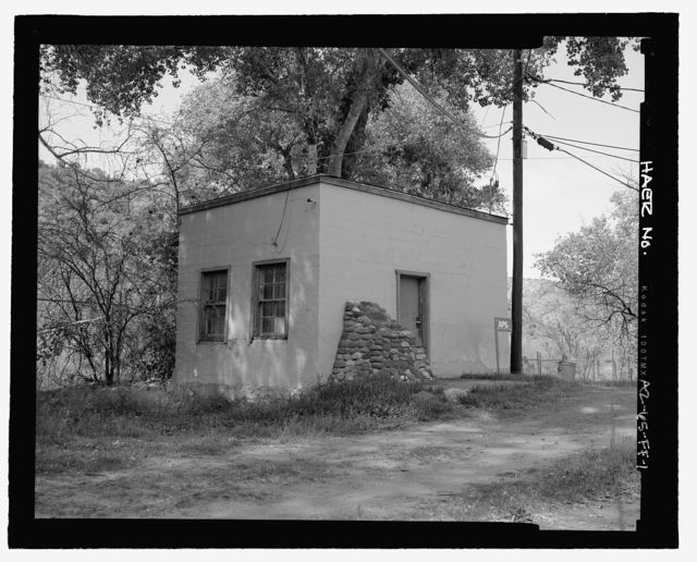 Childs-Irving Hydroelectric Project, Childs System, Office, Forest Service Road 708/502, Camp Verde, Yavapai County, AZ