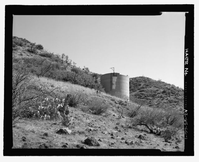 Childs-Irving Hydroelectric Project, Childs System, Stand Pipe (Surge Tank), Forest Service Road 708/502, Camp Verde, Yavapai County, AZ