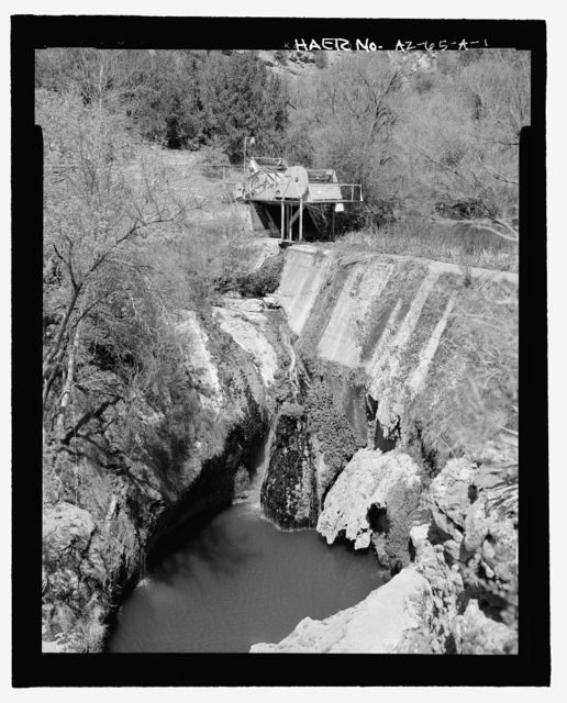 Childs-Irving Hydroelectric Project, Fossil Creek Diversion Dam, Forest Service Road 708/502, Camp Verde, Yavapai County, AZ