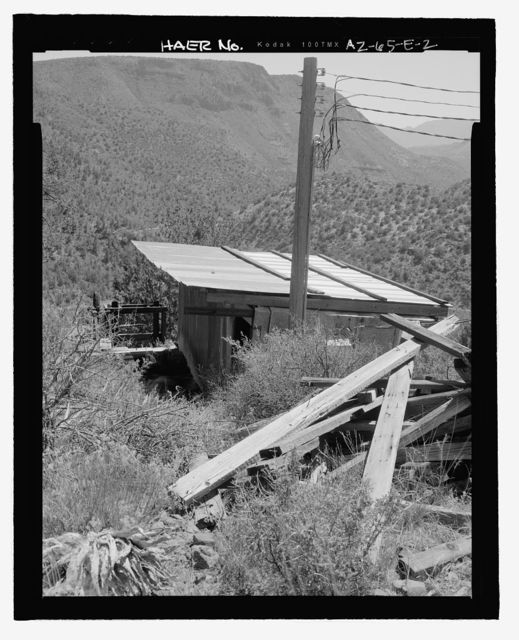 Childs-Irving Hydroelectric Project, Irving System, Sandbox & Spill Gate, Forest Service Road 708/502, Camp Verde, Yavapai County, AZ